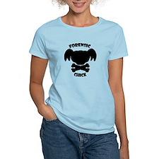 Forensics Chick T-Shirt