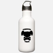 Forensics Chick Water Bottle
