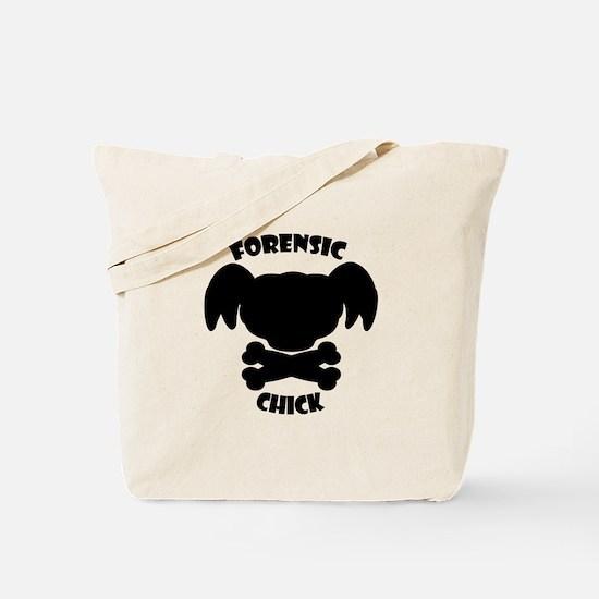 Forensics Chick Tote Bag