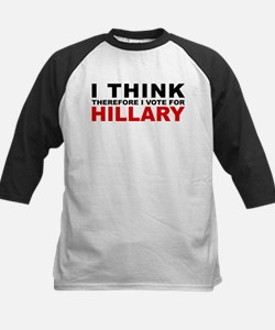 Vote For Hillary Kids Baseball Jersey