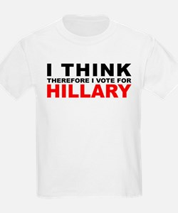 Vote For Hillary Kids T-Shirt