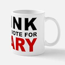 Vote For Hillary Mug