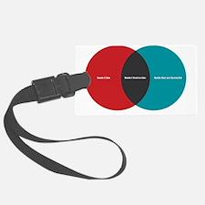 bands-venn-diagram Luggage Tag