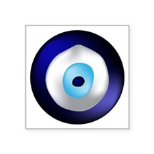 "Evil Eye Square Sticker 3"" x 3"""