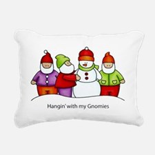 Gnomies Rectangular Canvas Pillow