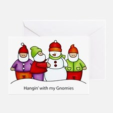 Gnomies Greeting Card