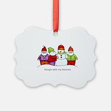 Gnomies Ornament