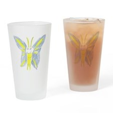 Butterfly Solo Drinking Glass