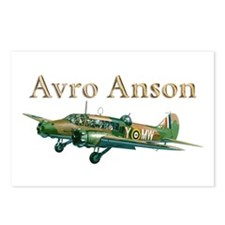 Avro Anson Postcards (Package of 8)