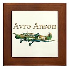 Avro Anson Framed Tile