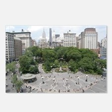 union square Postcards (Package of 8)