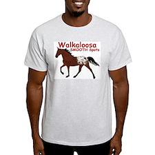 BWalk Ash Grey T-Shirt