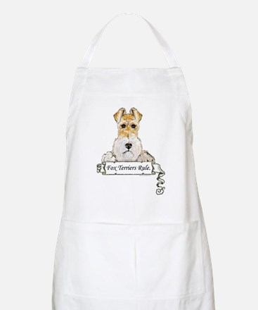Fox Terriers Rule BBQ Apron