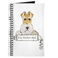 Fox Terriers Rule Journal