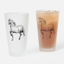 Horse Illustration3 - Copy Drinking Glass