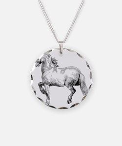Horse Illustration3 - Copy Necklace
