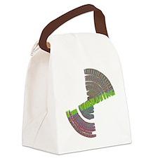 vibrating shirt Canvas Lunch Bag