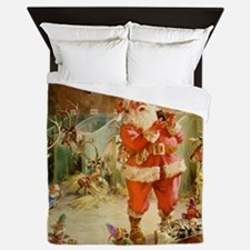 Santa Claus 70_SQ Santa Queen Duvet