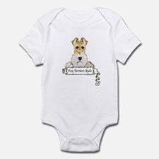 Fox Terriers Rule Infant Bodysuit
