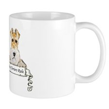 Fox Terriers Rule Small Mug
