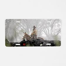 snowcowboy_smf Aluminum License Plate