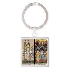 Love Together Square Keychain