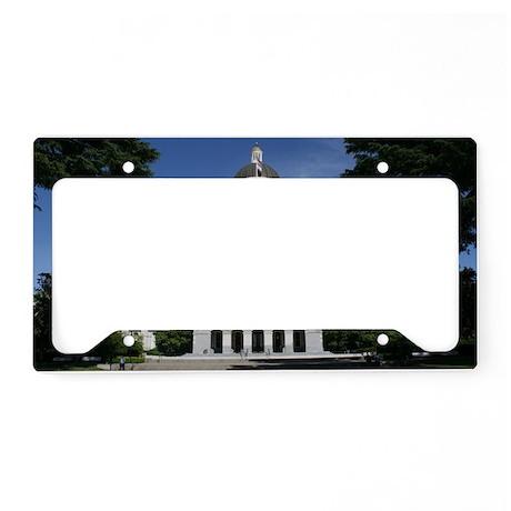 Capitol in Sacramento License Plate Holder