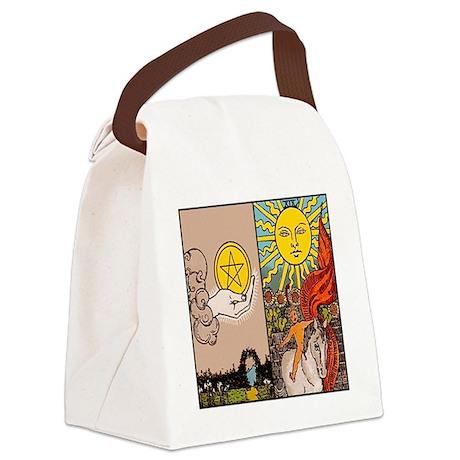 bring money Canvas Lunch Bag