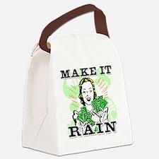 Make It Rain.eps Canvas Lunch Bag