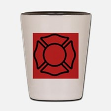 crossred443_iphone_case Shot Glass