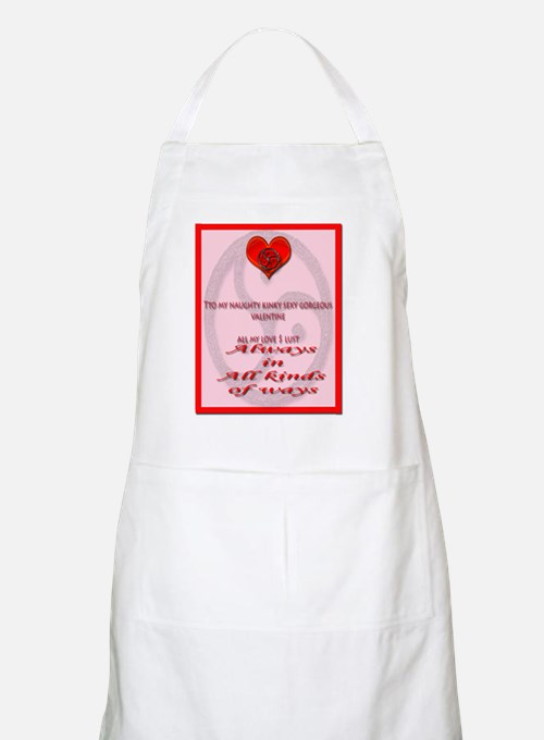 sexy valentine card inner Apron
