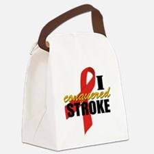 iconqueredstroke Canvas Lunch Bag