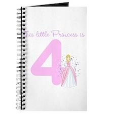 Princess Birthday Custom Age Journal