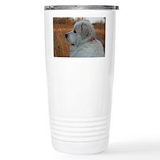 Adorable great pyrenese Travel Mug