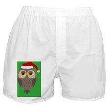 christmasowlornament Boxer Shorts