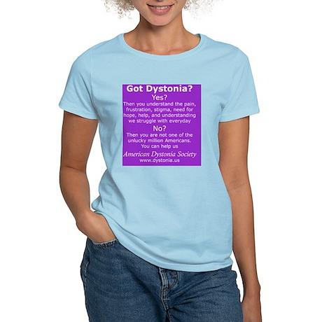 DystoniaTShirt3 Women's Light T-Shirt