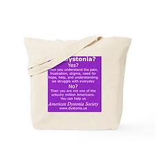 DystoniaTShirt3 Tote Bag