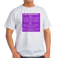 DystoniaTShirt3 T-Shirt