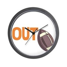 laces out Wall Clock