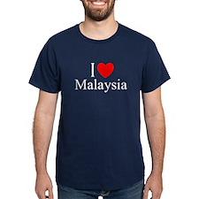 """I Love Malaysia"" T-Shirt"