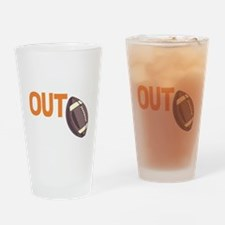 laces out Drinking Glass