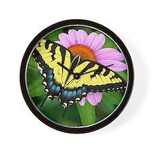 Swallowtail Wall Clock