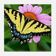 Swallowtail Tile Coaster