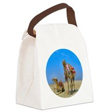 Egyptian Camels - Canvas Lunch Bag