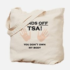 Hands off shirt Tote Bag