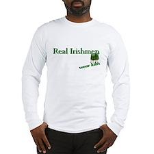 Real Irish Men Wear Kilts Long Sleeve T-Shirt