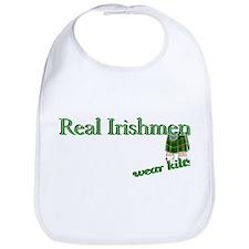 Real Irish Men Wear Kilts Bib