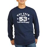 53rd birthday Long Sleeve T Shirts