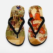 Santa Claus 70_10x14V Flip Flops