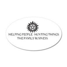SPN Family Business Wall Decal